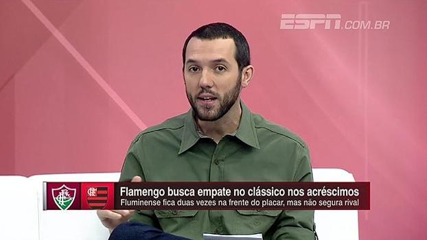 Hofman destaca atuação de Trauco no empate com o Fluminense: 'Lembra em alguns momentos o Sorín'