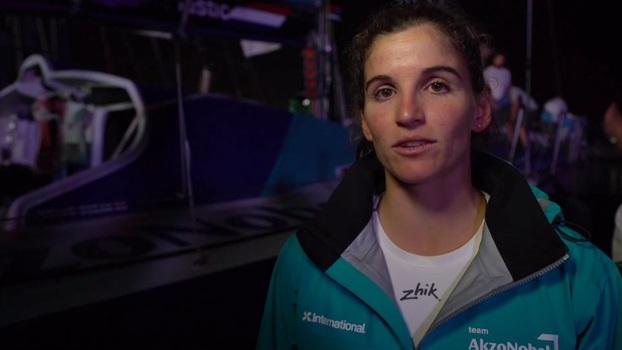 Martine Grael avalia resultado da primeira etapa da Volvo Ocean Race