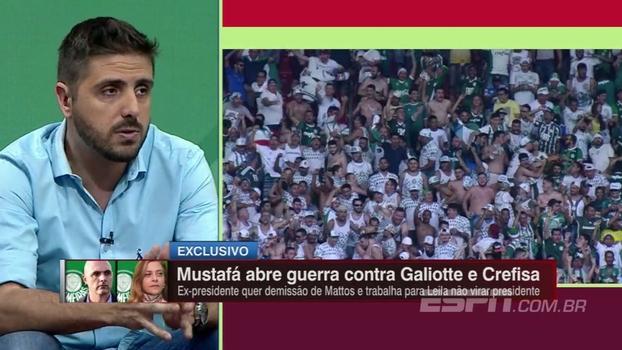 Nicola traz novidades sobre Mustafá no Palmeiras: 'Está tentando a demissão de Alexandre Mattos'