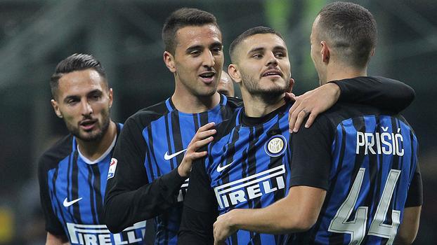Veja os gols de Internazionale 3 x 2 Sampdoria