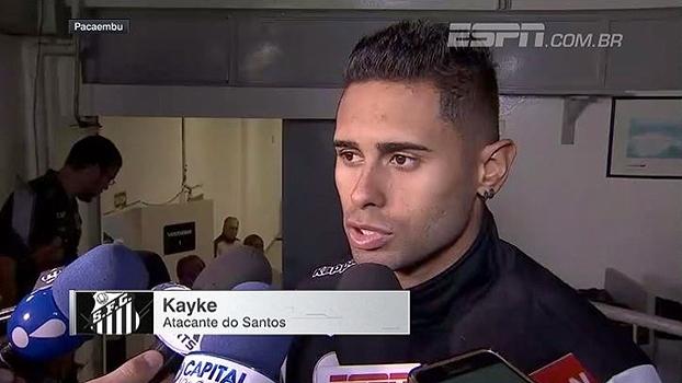 Com contrato acabando no fim do ano, Kayke manda recado: 'Minha intenção é ficar'