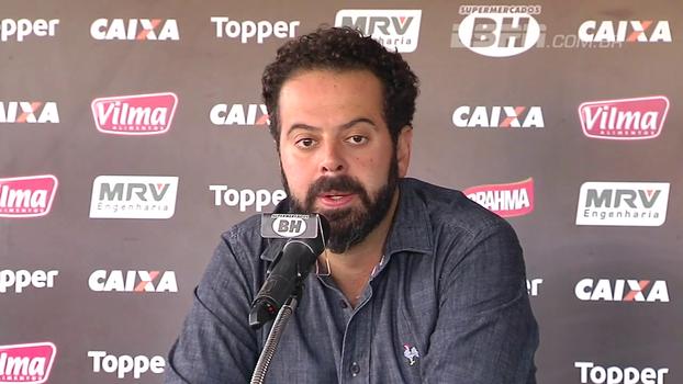 Sobre Roger, Nepomuceno diz que o estadual é bom, mas o time tem objetivos maiores: 'Infelizmente, futebol é resultado'