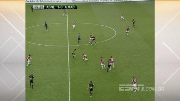 Veja o gol de Pacheco, reforço de Ceni para o Fortaleza, pelo Atlético de Madrid contra o Arsenal em 2009