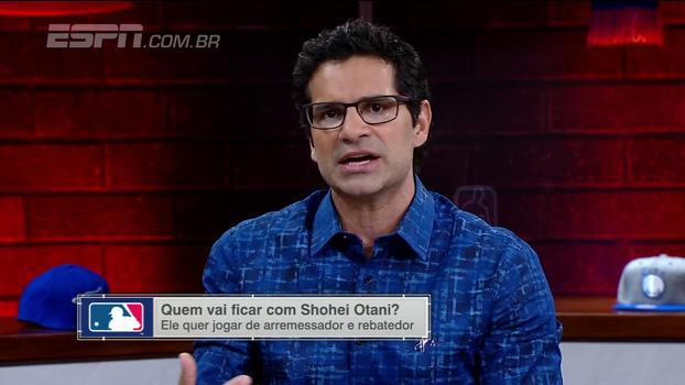 Paulo Antunes comenta sobre 'Babe Ruth' japonês: 'É um talento que a gente não tem na liga'