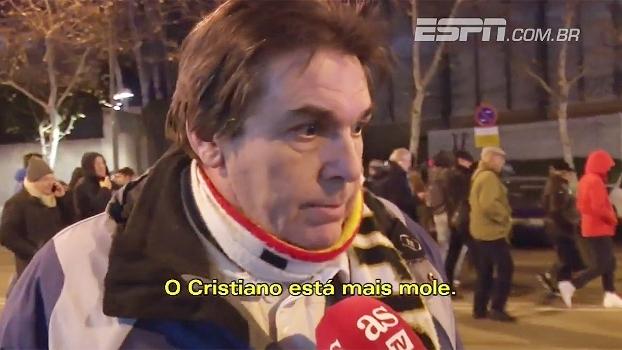 Torcedores do Real não perdoam e 'cornetam' Cristiano Ronaldo