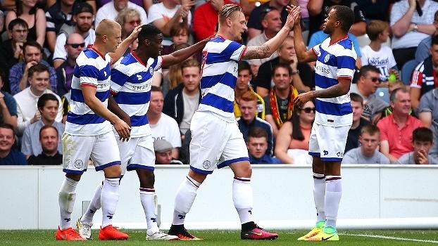 Assista aos gols da vitória do QPR sobre o Watford por 2 a 0