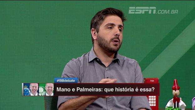 Nicola: 'Primeiro nome pensado pelo Palmeiras, para substituir o Cuca, foi do Mano Menezes'