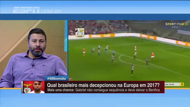 Gabigol é consenso entre as maiores decepções brasileiras na Europa