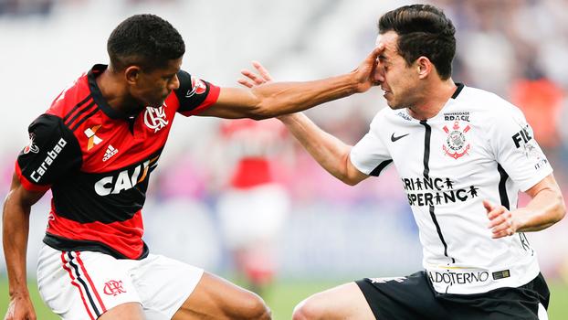 Brasileiro: Gols de Corinthians 1 x 1 Flamengo