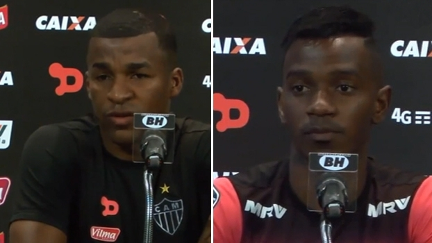 Hyuri pede que Atlético-MG comece com tudo contra o Racing-ARG; Erazo diz que vitória traria tranquilidade