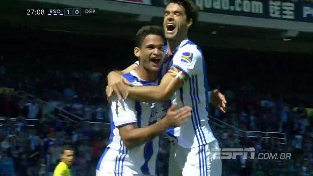 William José marca e garante vitória da Real Sociedad sobre o La Coruña 3fe0df09e95d8