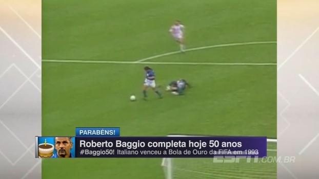 Ídolo do futebol italiano, Roberto Baggio completa 50 anos! Relembre a carreira do meia