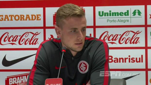 Zagueiro do Inter, Klaus fala sobre recuperação na Série B e foca na sequência da competição