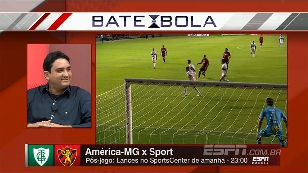 Marcos Leandro diz que Sport tem tudo para vencer o América-MG e crê que Vitória escape da Série B