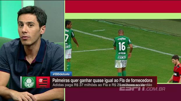 BB Debate analisa contratos de Palmeiras e Flamengo com fornecedores esportivas e debatem futuro da camisa do São Paulo