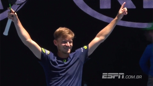 Australian Open: Melhores momentos de Goffin 3 x 0 Karlovic (6-3, 6-2 e 6-4)