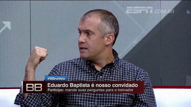 Eduardo Baptista nega problemas com jogadores do Palmeiras: 'Eles compraram a ideia, mas você precisa de tempo'
