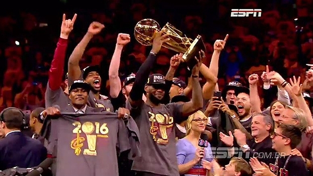 Relembre o toco de LeBron e a cesta de três de Irving; Título dos Cavs completa 1 ano