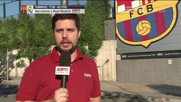 Antes da Supercopa, Barça vive clima de especulações de novas chegadas; André Linares conta como foi o sábado do time