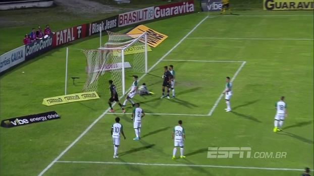 Série B: Gols de Santa Cruz 3 x 0 Goiás