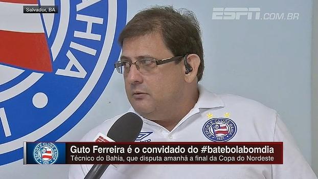 Guto Ferreira projeta final da Copa do Nordeste e vê possível título como o maior da carreira