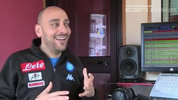'Inimigo, traidor'; torcida do Napoli se prepara para encontro com Higuaín pela Juventus