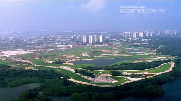 Esporte de elite? Campo de golfe no Parque Olímpico conquista atletas de todas as idades e vira atração no Rio