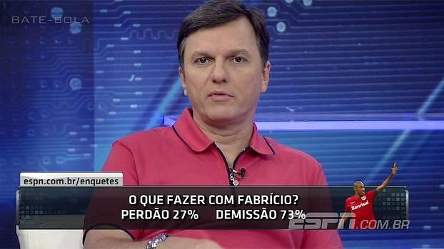 aa7d709c9 Para Mauro, demitir Fabrício seria jogar para torcida: 'Se eu fosse  presidente do