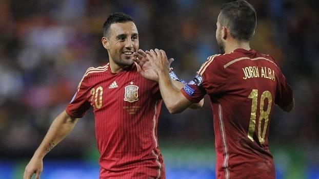 62aca13903 Espanha goleia Luxemburgo e garante luta pelo tri na Euro 2016 - ESPN