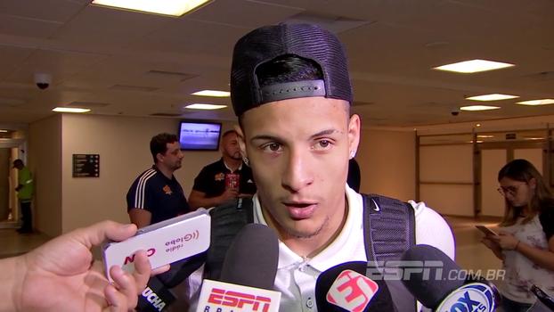 Arana comemora sequência do Corinthians: 'Vão vir muitas coisas boas lá na frente'