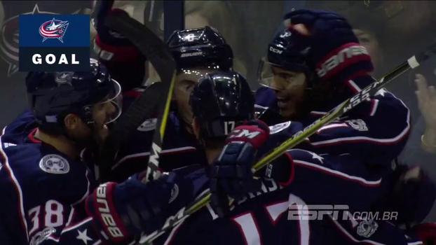 Na NHL, Blue Jackets vencem Rangers em casa e chegam a três vitórias seguidas
