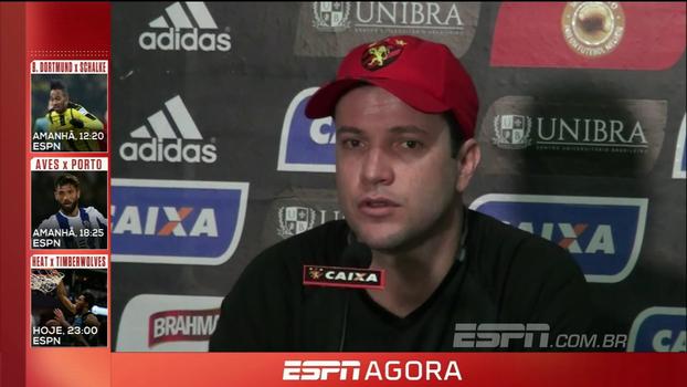 Daniel Paulista avisa o Sport: 'Quando a gente sofre menos gols, se aproxima mais das vitórias'