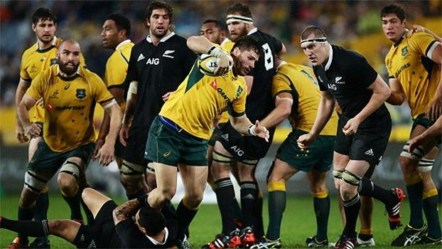 Veja os melhores momentos de Nova Zelândia 12 x 12 Austrália na abertura do The Rugby Champioship