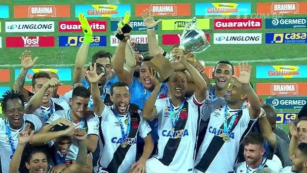 Título do Vasco e gol de Luís Fabiano  veja como foi a final da Taça 12b140f8d6c4e