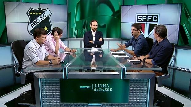 Arnaldo vê falha de Lugano em gol do ABC e destaca defesa importante de Dênis