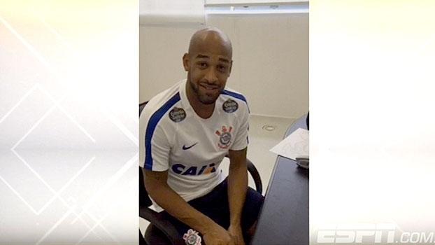 De contrato assinado, Fellipe Bastos manda recado à torcida do Corinthians: 'Sonho realizado'