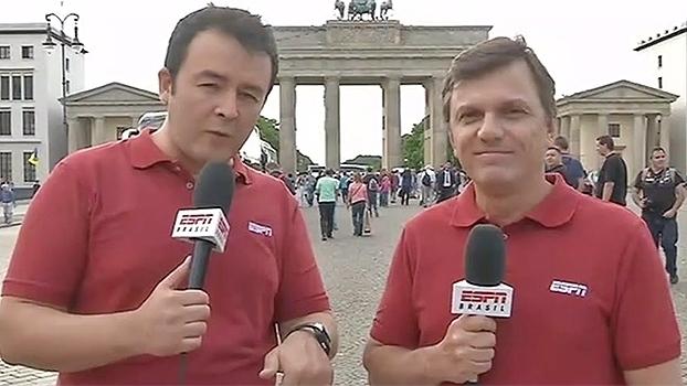 Em meio à final da Copa da Alemanha entre Bayern e Borussia, uma bizarra cama-bicicleta