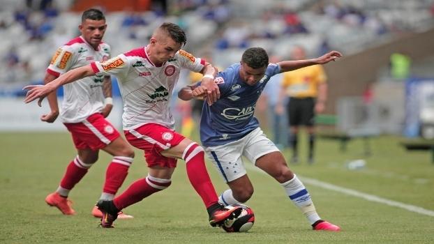Assista aos gols do empate em 1 a 1 entre Cruzeiro e Tombense