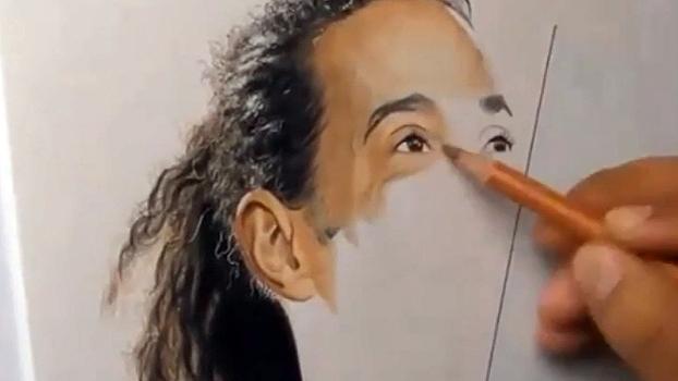 Desenhista faz réplica idêntica de Ronaldinho Gaúcho; veja