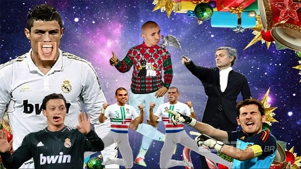 É véspera de Natal! Relembre o vídeo com a música de natal de Benzema