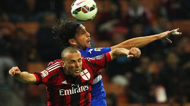 Resultado de imagem para Milan x Sampdoria