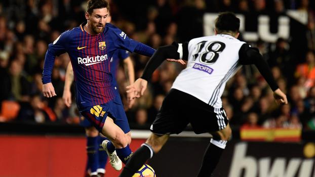 LaLiga: Melhores momentos de Valencia 1 x 1 Barcelona