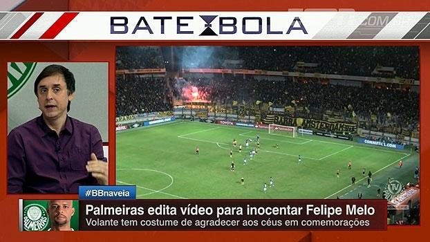 Tironi espera punição a Felipe Melo: 'Não que esteja certo, mas é como a Conmebol tem agido'