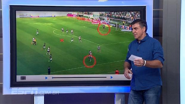 Zetti analisa gol do Palmeiras e vê falha de Neneca no lance