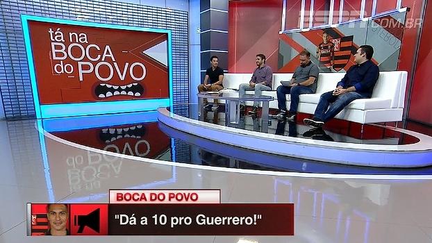 Guerrero 10 e faixa? BB Debate analisa números de atacante pelo Flamengo