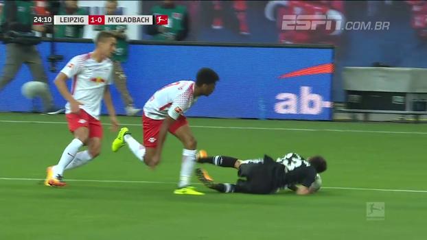 Assista aos gols do empate entre RB Leipzig e Borussia Monchengladbach por 2 a 2!
