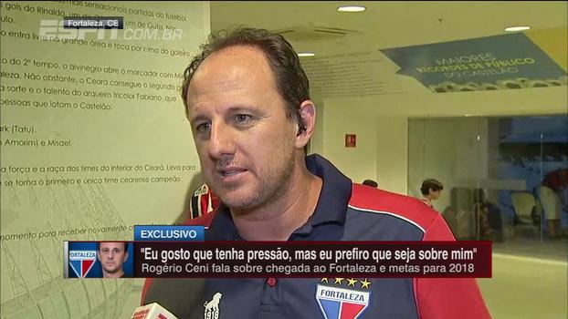 Ceni diz que já tem nomes para contratar no Fortaleza, fala sobre estilo de jogo e explica comissão técnica