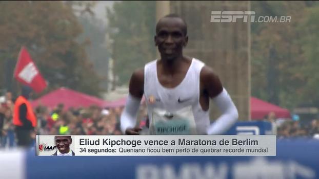 Eliud Kipchoge vence a Maratona de Berlim