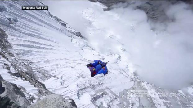 Encarava essa? Russo salta de um dos picos mais altos do continente americano; veja!