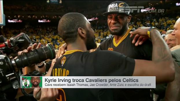 Kyrie Irving deixa LeBron James e vai atrás do protagonismo em Boston; Isaiah Thomas chega em Cleveland